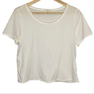   URBAN OUTFITTERS   Truly Madly Deeply crop tee